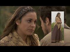 """""""El Secreto de Puente Viejo"""" un tributo a crocheteras y tricotosas. Wonderful shawl in TV series."""