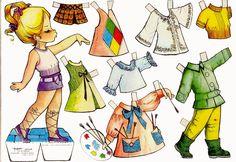 muñecas recortables, paper dolls, Бумажные куклы , bambole da carta, poupées en papier, 纸娃娃 ,