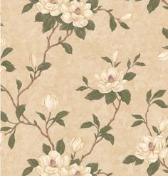 Brewster 41457804 Lilith Beige Floral Branch Wallpaper ** Check out this great product.