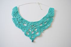 Crochet Necklace Pattern and Video Tutorial