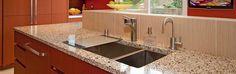 Vetrazzo Recycled Glass Counter Tops - Love the recycled glass soooooo much better than granite!!!