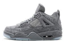 a76695146f6672 Fake KAWS x Air Jordan 4 Retro Cool Grey 930155-003 (1) Jordan