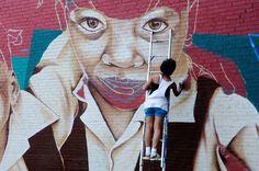 Indigo, women of street art. (LP)
