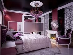 Girlsu0027 Bedroom Decoration Ideas And Tips | Teen Room Designs, Teen And  Bedrooms