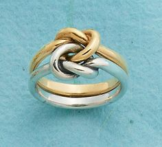 Original Lovers' Knot Ring #JamesAvery