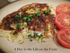 A Day in the Life on the Farm: Caramelized Onion and Apple Frittata #Brunchweek 2016