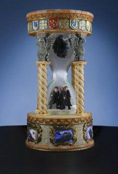 San Francisco Music Box Harry Potter Ron Weasley and Hermione Granger with Dementro Hourglass Snow Globe Harry Potter Ron Weasley, Harry Potter Cosplay, Harry Potter Room, Harry Potter World, Hermione Granger, Harry Potter Snow Globe, Hogwarts Christmas, Harry Potter Merchandise, Harry Potter Collection