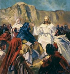 """November 28th - Luke 21:34-36: Jesus said to his disciples: """"Beware that your hearts do not become drowsy from carousing and drunkenness and the anxieties of daily life, and that day catch you by surprise like a trap. For that day will assault everyone who lives on the face of the earth. Be vigilant at all times and pray that you have the strength to escape the tribulations that are imminent and to stand before the Son of Man."""""""