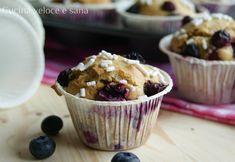 Muffin ai mirtilli, dolcetti morbidi e profumati che allieteranno le vostre colazioni o merende.