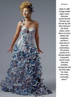 Lia Griffith paper dress