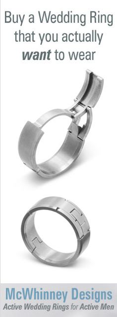 $825- A perfect fitting ring is possible with the TG4 Active Ring! Hinged to allow easy on/off for work, play, bathing and sleep. Precision CNC machined in the USA. Available in Titanium or Stainless Steel.