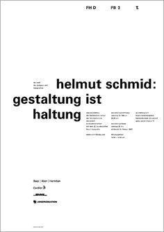 helmut schmid — design is attitude. düsseldorf.