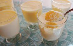 Katrine Stenhjem – Sitronfromasj (lavkarbo) Panna Cotta, Pudding, Ethnic Recipes, Desserts, Food, Tailgate Desserts, Dulce De Leche, Deserts, Custard Pudding