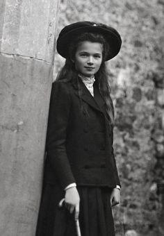 Grand Duchess Olga Romanov. Oldest daughter of Tsar Nicholas ll of Russia.