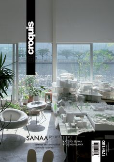 El croquis : publicación de arquitectura, construcción y diseño. Nº179/180 - SANAA Kazuyo Sejima Ryue Nishizawa 2011-2015.  Sumario:  http://www.elcroquis.es/Shop/Issue/Details/91?ptID=1&shPg=4  Na biblioteca: http://kmelot.biblioteca.udc.es/record=b1178054~S6*gag
