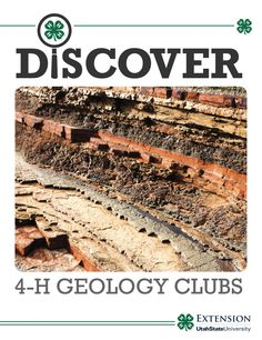 Start a club easy with the Discover curriculum! 4 H Club, Geology, Alaska, Utah, Promotion, Board, Projects, Log Projects, Blue Prints