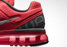 Nike, shoe, air, red, fabric, sole