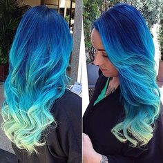 """I need a profession where it is acceptable and you're still considered """"professional"""" to have blue hair : and it be respectable!!"""