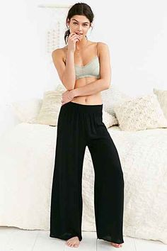 Out From Under Pasadena Wide-Leg Pant - Urban Outfitters