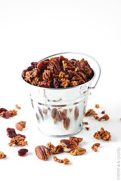 High Fiber Cinnamon Pecan Granola