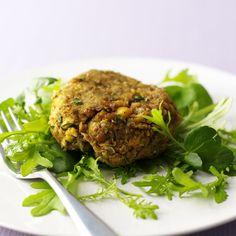 Würzige Gemüsebratlinge Rezept | Weight Watchers