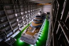 Oceanco launches the largest yacht ever built in The Netherlands