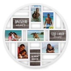 Wedding Collage with Circle Frame. Add talisman, wedding photos, favorite sayings, your wedding date (so no one forgets!) Add  bling, color, customize for your affair! Shutterfly http://www.destinationweddings.travel/default.asp?sid=23734&pid=32788 #allcouplesallowed wedding and reception planning with expert PJ
