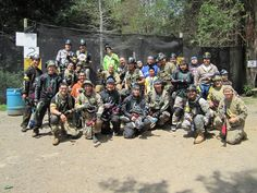 Liberty Paintball with NYMP Yeti Brigade SAS Fuzion and PB ShiFu