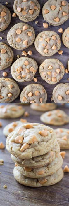 Super soft & chewy Butterscotch Cookies. Brown butter is the secret ingredient for ridiculously flavorful, perfect butterscotch taste!