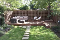 Marvelous Small Back Garden Landscape Ideas Post Modern Furniture Intended For Small  Backyard Garden Designs Regarding Dream