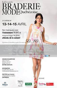Gatineau - La Grande Braderie de mode | lesventes.ca