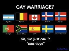 Marriage equality around the globe.