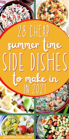 This list of 10 side dishes comes packed with the best foods to take to your next summer BBQ or potluck! Impress the crowd and stay on budget with these cheap side dishes everyone loves! Form pasta salads to beans, you'll be sure to find something delicious for the next meal. Cheap Side Dishes, Cheap Party Food, Meal Ideas, Dinner Ideas, Food Ideas, Meal Planning Printable, Dinner On A Budget, Save Money On Groceries, Feeding A Crowd