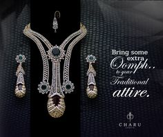 #designer #traditional #Indian #wedding #collection. by #charu #jewels #ethnic #contemporary #real #diamond #jewelery