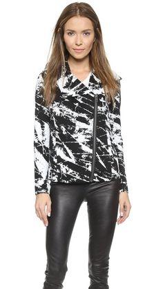 Helmut Lang jersey jacket