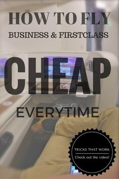 These are tricks to fly business class cheap and first class cheap. These 5 booking tricks are all you need to fly in luxury classes for the price of economy or coach. This works on all airlines from British Airways, American Airlines, Lufthansa, Qatar Airways, Austrian Airlines, and many more