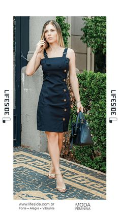 movie date outfit Cute Dresses, Casual Dresses, Short Dresses, Casual Outfits, Denim Fashion, Trendy Fashion, Moda Fashion, Dress Outfits, Fashion Dresses