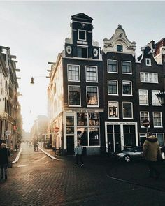 Amsterdam! Visit it! And yes, not only Amsterdam, becouse The Netherlands is more than only Amsterdam!