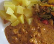 Rezept Schnitzeltopf Italienisch mit Kartoffeln und Gemüse von Sabine1980 - Rezept der Kategorie Hauptgerichte mit Fleisch