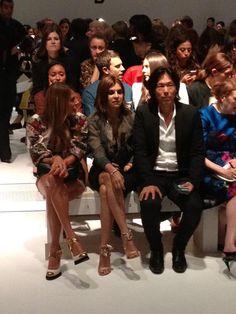 Front Row-Ladys bei Salvatore Ferragamo: Anna Dello Russo & Carine Roitfeld