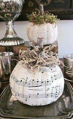 Music pages crafty Pumpkin