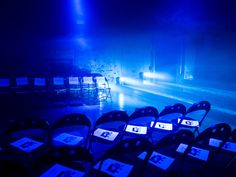Backstage: The Deep Sea F/W 2016-2017 #lightmynight
