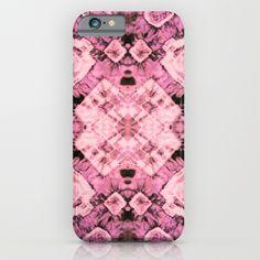 Pink Silk Tie-Dye iPhone & iPod Case