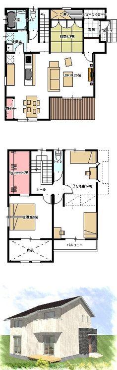 2階建-34坪-東-1の画像 | 間取りブログ!!