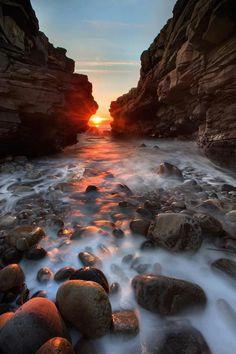 Beautiful Sunset in Ireland