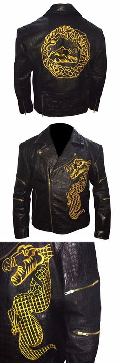 "Presenting Killer Croc Suicide Squad Waylon Jones Leather Jacket in our online store ""Rasouk"" inspired from Movie Suicide Squad. The Killer Croc Jacket is for all Stylish and fashionable boys and men who want to themselves look smart. Collect now Killer Croc Waylon Jones Jacket at reasonable price."