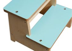 Wooden Step Stool for kids Step Stool Kids by EllaMenoPeaDesign