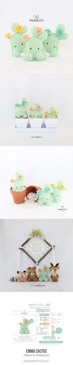 Emma Cactus amigurumi pattern