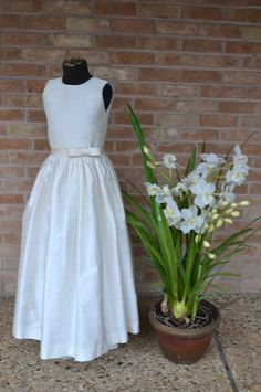 First Communion Dress Communion Dress Holy by CouturesbyLaura, $320.00