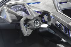 Inside the VW Golf GTE Sport concept